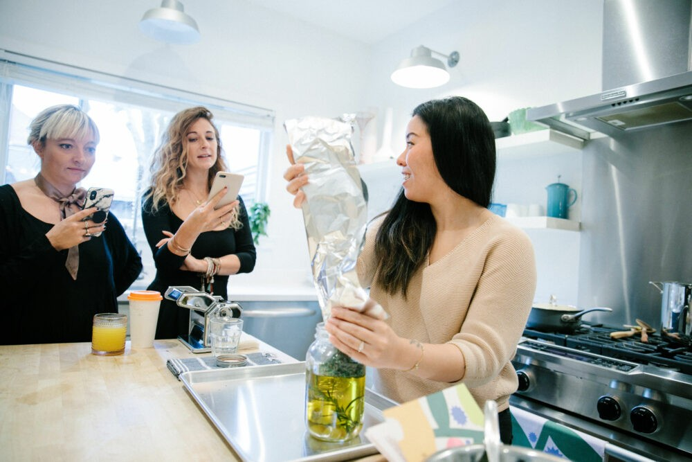 Casie Stewart, cooking with cannabis, Van Der Pop, cannabis, blogger, influencer