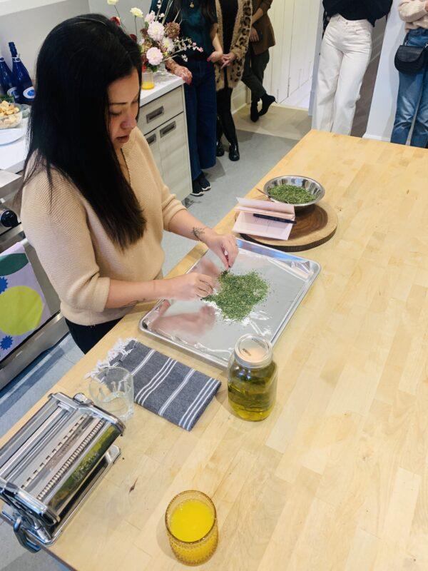 Casie Stewart, cooking with cannabis, Van Der Pop, cannabis, blogger, influencer